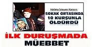 Konya'da karısını sokak ortasında öldüren kocaya ilk duruşmada müebbet