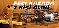 Konya'da Katliam Gibi Kaza:7 Ölü-VİDEO