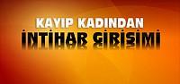 Konya'da Kayıp Kadın İntihar Girişiminde Bulundu