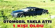 Konya'da kaza: Otomobil takla attı 1 kişi öldü
