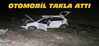 Konya'da Kaza:Otomobil Takla Attı