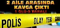 Konya'da Komşu Kavgası Kanlı Bitti:1 Ölü 9 Yaralı