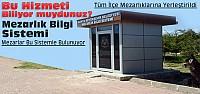 Konya'da Mezarlık Bilgi Sistemi Tüm İlçelerde