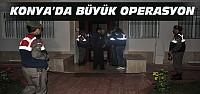 Konya'da Milyarlık Operasyon:23 Gözaltı