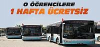 Konya'da Öğrencilere Toplu Ulaşım 7...