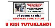 Konya'da Operasyonla Yakalanan Çeteden 8 Kişi Tutuklandı