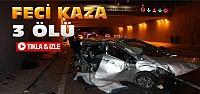 Konya'da Otogar Kavşağında Feci Kaza:3...