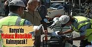 Konya'da Plakasız motosiklet kalmayacak