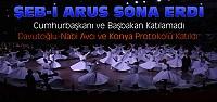 Konya'da Şeb-i Arus Programı Sona Erdi