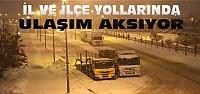 Konya'da Kar Yağışı Ulaşımı Olumsuz Etkiliyor