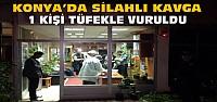 Konya'da Silahlı Kavga:1 Kişi Tüfekle...