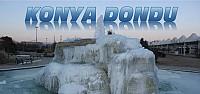 Konya'da Sular ve Havuzlar Dondu