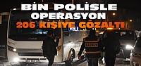 Konya'da Suriyelilerin Mahallesine Bin Polisle Operasyon