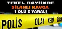 Konya'da Tekel Bayiinde Silahlı Kavga:1...