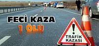 Konya'da TIR Otomobille Çarpıştı:1 Ölü