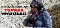 Konya'da Toprak Yiyen Kadınlar Şikayet Edildi