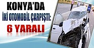 Konya'da Trafik Kazası: 6 Yaralı