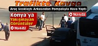 Konya'da Trafikte Pompalı Tüfekli Kavga-VİDEO