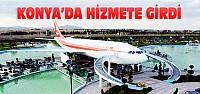 Beylikdüzü Konya'da uçak restoran ve kafe hizmete girdi