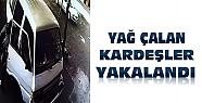 Konya'da varil yağı çalan kardeşler yakalandı