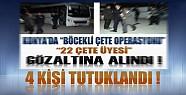 Konya'da Yakalanan Suç Örgütü Üyesi 4 Kişi Tutuklandı