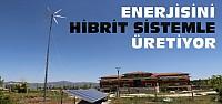 Bu Fakülte Enerjisini Hibrit Sistemle Üretiyor