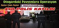 Konya'daki eğlence mekanlarına 450 polisle operasyon