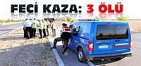 Konya'daki Feci Kazada 3 Ölü 2 Yaralı