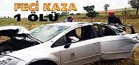 Konya'daki Kazada 1 Ölü 4 Yaralı