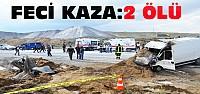Konya'daki kazada 2 kişi feci şekilde öldü