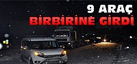 Konya'daki Kazada 9 Araç Birbirine Girdi