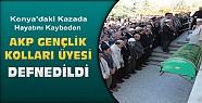 Konya'daki kazada ölen Akp gençlik kolları üyesi defnedildi