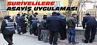 Konya'daki Suriyelilere 250 Polislik Asayiş Uygulaması