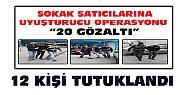 Konya'daki uyuşturucu operasyonunda 12 kişi tutuklandı