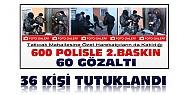 Konya'daki Uyuşturucu Operasyonunda 60 Kişiden 36'sı Tutuklandı