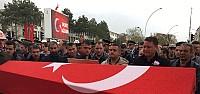 Konyalı Şehit Asker Son Yolculuğuna Uğurlandı