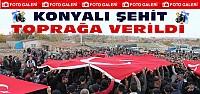 Konyalı Şehit Toprağa Verildi-FOTO-GALERİ