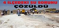 Konya'nın 4 İlçesindeki Su Sorunu Çözüldü