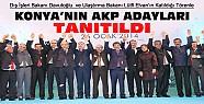 Konya'nın AKP Adayları 2 Bakan'ın Katılımıyla Halka Tanıtıldı