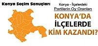 Konya'nın Tüm İlçelerinde Seçim Sonuçları