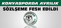 Konyaspor 1 Oyuncusuyla Sözleşmesini Fesh Etti