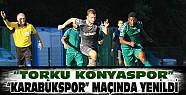 Konyaspor 4.Hazırlık Maçında Karabükspor'a Yenildi