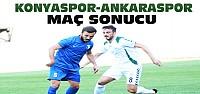 Konyaspor Ankarasporla Berabere Kaldı