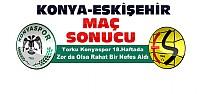Konyaspor Eskişehirspor Maç Sonucu
