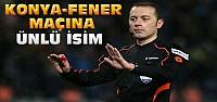 Konyaspor-Fenerbahçe maçına ünlü hakem