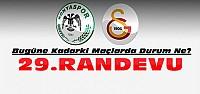 Konyaspor Galatasaray ile 29.Randevusunda