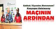 Konyaspor Galatasaray Maçının Ardından-Basın Toplantısı
