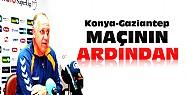 Konyaspor Gaziantepspor Maçının Ardından-Basın Toplantısı