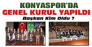 Konyaspor Genel Kurulu Yapıldı-Başkan Kim Seçildi?