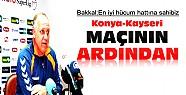 Konyaspor Kayserispor Maçının Ardından-Basın Toplantısı